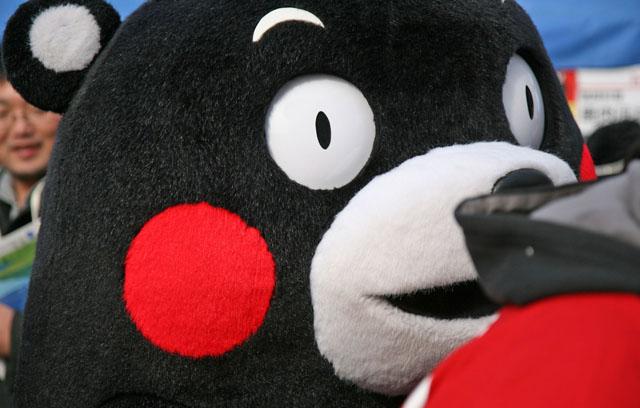 大阪でくまモンに遭遇!かわいさ爆発のファン感謝祭!
