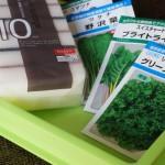 バルコニーで野菜の水耕栽培!とっても簡単な種まき編!