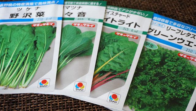 バルコニーで水耕栽培!種まき用の野菜の種購入編!