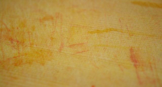 まな板に色がついた