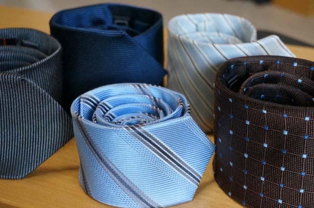 シルクのネクタイを自宅の洗濯機で洗濯してみた!