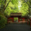 貴船神社の奥宮の新緑と叡山電車の展望列車体験記!