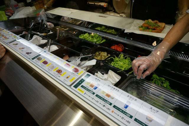 新鮮野菜がいっぱい