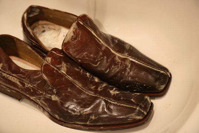 革靴洗濯07