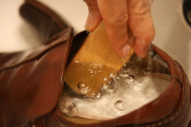 革靴洗濯11