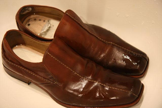 革靴洗濯12
