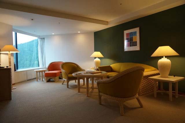 星野リゾート・リゾナーレトマムのスイートツインのお部屋! 北海道旅行体験記