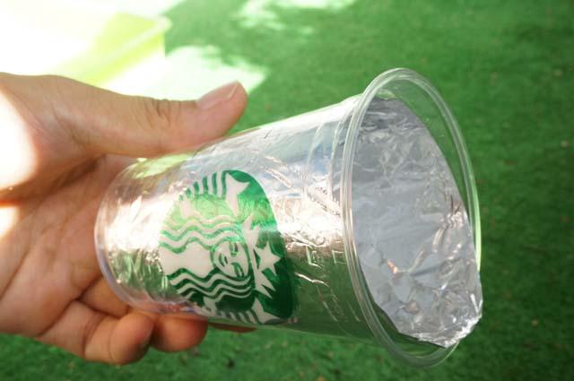 DSC00830スタバのカップを再利用