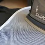 普通の夏物スーツの上着を自宅の洗濯機で洗濯してみた!アイロン編