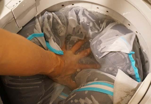 ダウンジャケットを自宅で洗濯する方法を試してみた!