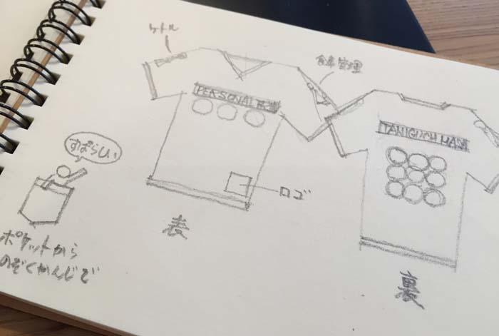 誕生日サプライズプレゼントにオリジナルアイロンプリントTシャツをつくってみた!デザイン編
