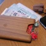 軽くて薄い上にカッコイイ木製財布union walletを購入してみた!【レビュー】