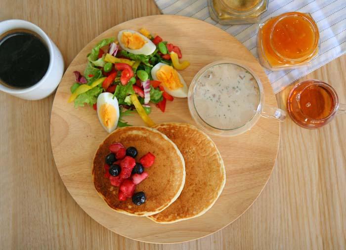 おしゃれで簡単に朝食を山崎佳さん風にワンプレートに盛り付ける方法!