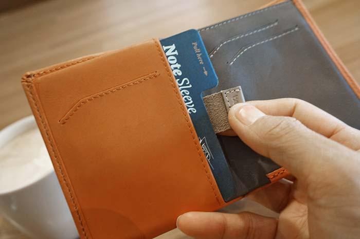 軽くて薄くて小さい財布!Bellroy Note sleeve wallet の特長と使用感!