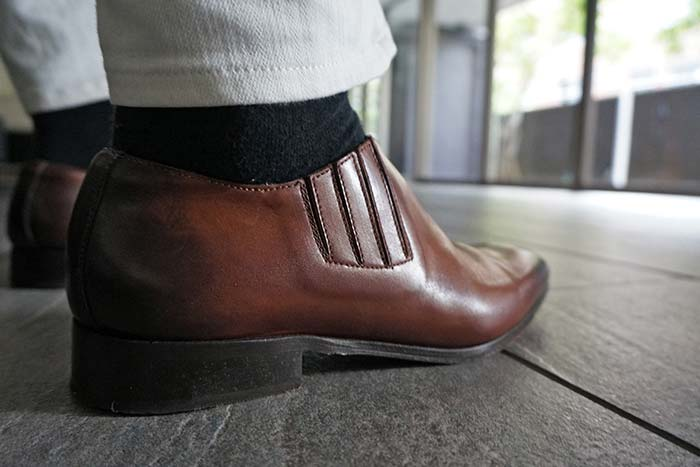 くるぶしの下の靴擦れ対策に効果抜群のおすすめインソールパッド!