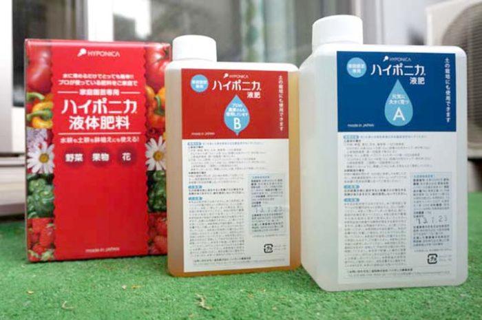 水耕栽培専用液体肥料