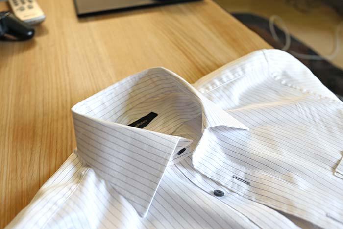 ワイシャツの襟汚れは毎回落とせば楽々!黒ずみをためない簡単な洗い方!