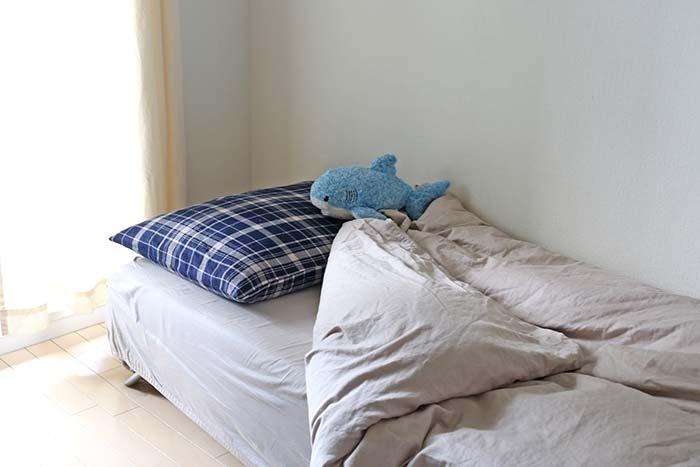 セミシングルのベッド
