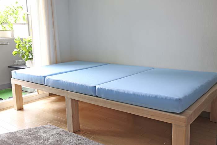 エアウィーブとすのこベッド