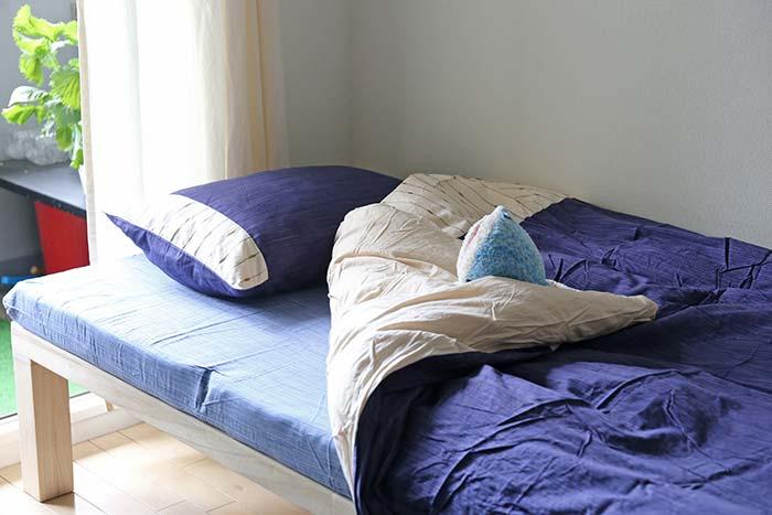 ハウスダストとダニのアレルギー対策!ベッドとマットレスを変えてみた!