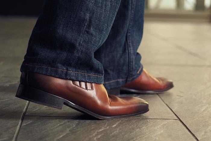 快適になった革靴