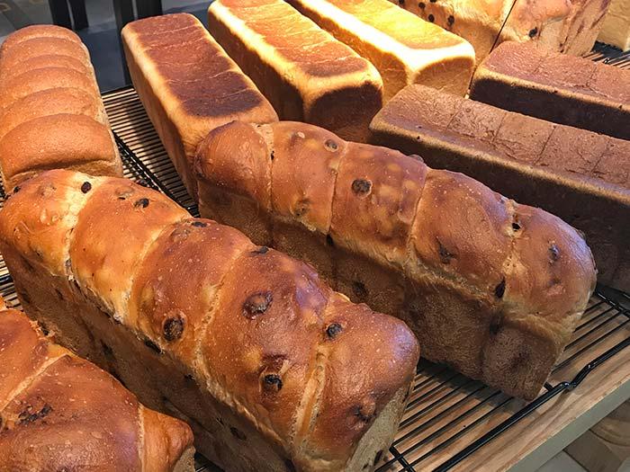 種類豊富な食パン