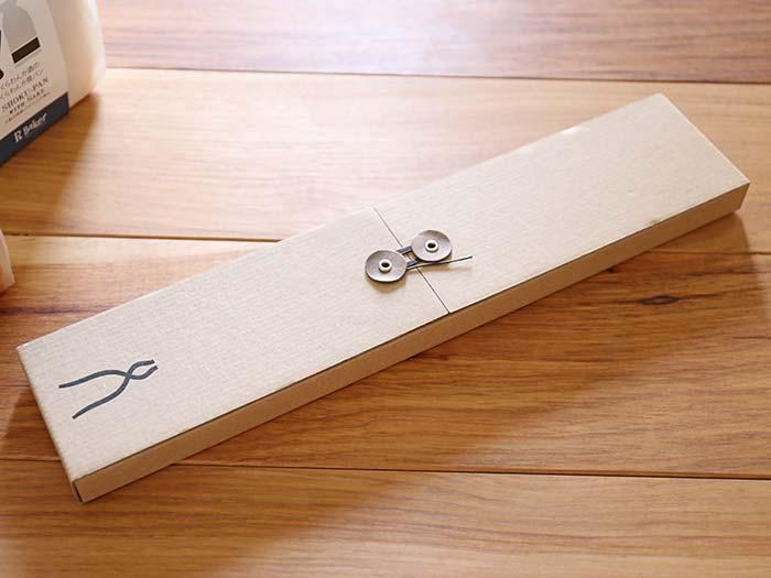 タダフサの包丁のパッケージ