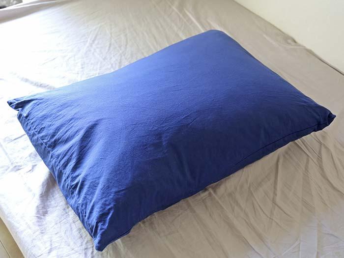 動物みたいなニオイがする枕