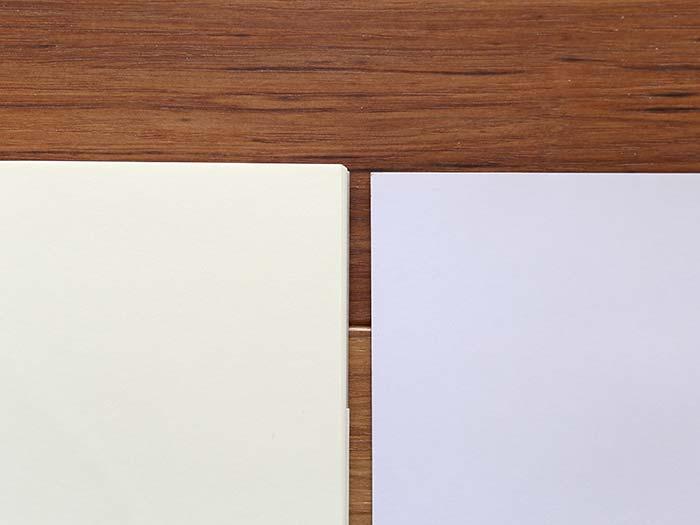 生成り色の紙の美しさ