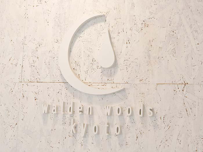 walden woods kyotoのサイン