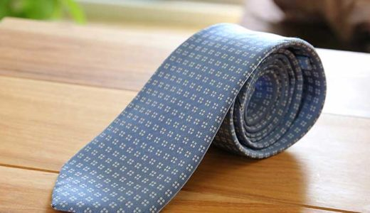 汚れやシミがついたシルクのネクタイを自宅で洗濯する簡単な方法!