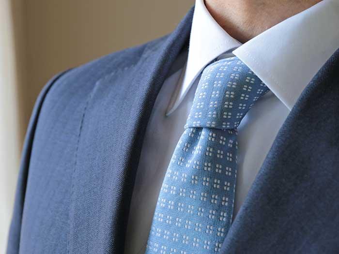 綺麗に洗えたネクタイ