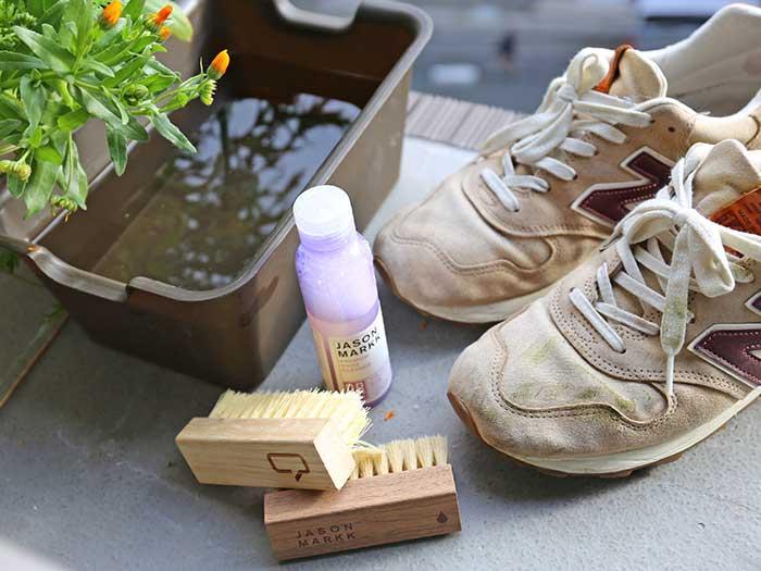 スニーカーを洗うために必要な道具
