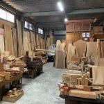 銘木の端材を買いに大阪から馬場銘木へ!豊富な樹種と在庫で楽しすぎる!