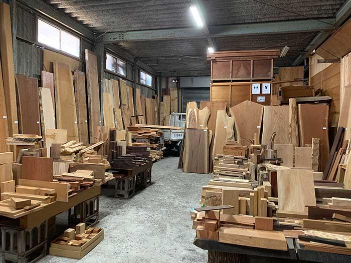 木材の市場みたい