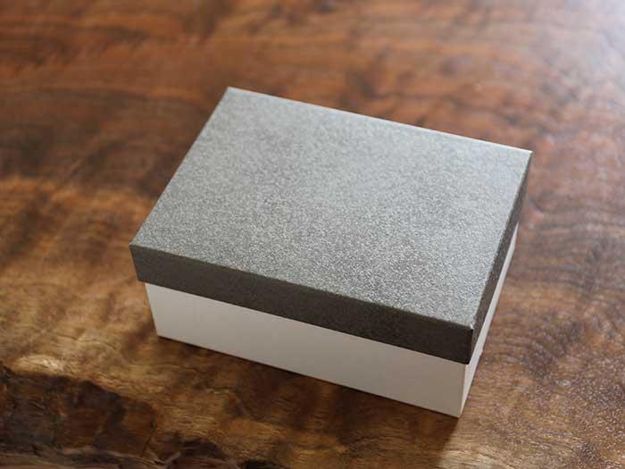竹製弁当箱のパッケージ