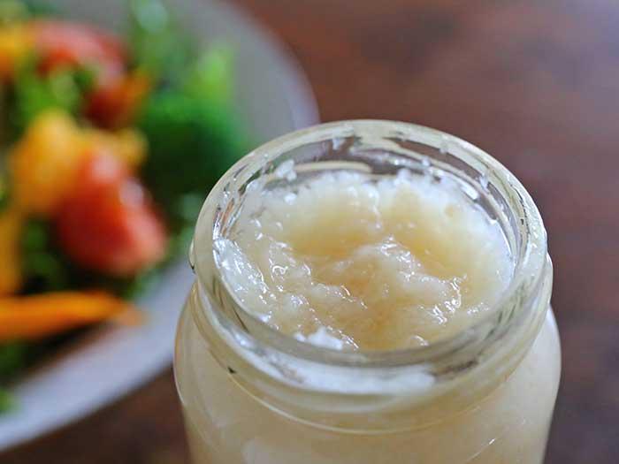 玉ねぎ&リンゴ&mixソルトのドレッシング